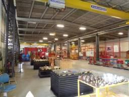 Galpões planta industrial em operação, indústria, cia sul, simões filho.