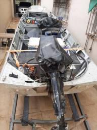 Barco de alumínio kit completo