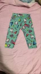 Calça infantil (Hello Kitty) Tamanho 1