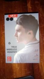 Fone de ouvido F9 Bluetooth 5.0 (Novo na caixa)