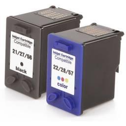 Cartuchos de tinta, aumento a capacidade em todos os modelos da HP/Canon