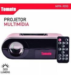 Promoção Projetor Multimídia Tomate Mpr-9010 Hdmi 300 Lumens, Novo, Entregamos