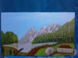 Pintura acrilica.