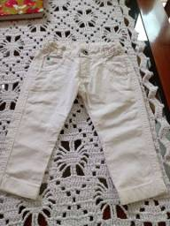 Lote de jeans infantil vestem até 1 ano