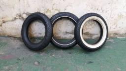 Lote 45 Pneus 130/90 16 Pneus semi-novos r$ 1500