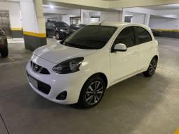 Nissan March SL 1.6 FLEX CVT 2019/2020 - Branco