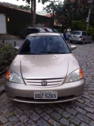 Honda Civic 2001 automático 1.7 R$13000,00 mil
