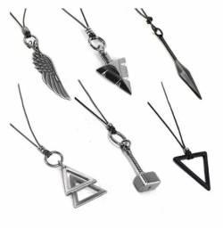 Colares Masculinos Tribal Martelo Thor Triangulo - Escolha