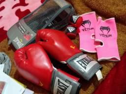 Luva de boxing everlast tam G