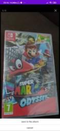 JOGO Super Mario Odyssey LACRADO nintendo switch