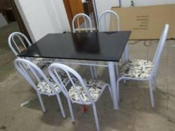 Mesa 6 cadeiras mega promoção