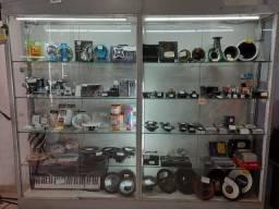 Vitrine de loja (vazia sem os produtos)
