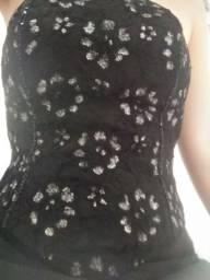 Vestido de festa semi-novo.