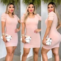 Vestido princesinha rosa
