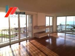 Apartamento a venda na Beira Mar norte com Vista infinita do Por do Sol em Condomínio la p