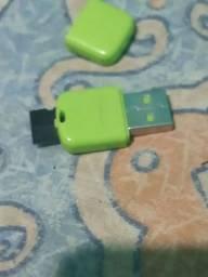 Adaptador de memória e USB