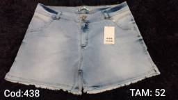 Lindos Shorts Plus Size - Tam 50 e 52