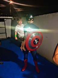 Capitão América - Personagem vivo