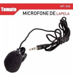 Microfone Lapela Áudio Profissional Vlog Youtube Conferencia