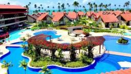 Vendo flat no oka beach mobiliado! beira mar de muro alto 739 mil