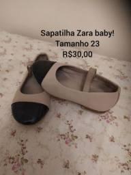 Sapatilha Zara baby