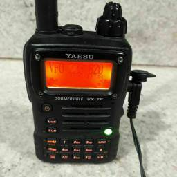 Rádio vhf yaesu vx7r semi novo