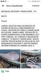 RELÍQUIAS, SECADOR + MODELADOR, 170