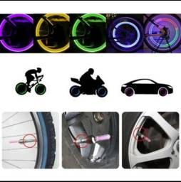 PROMOÇÃO!!! Led pra pneu de carro, moto e bicicleta