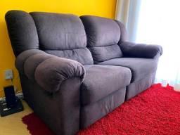 Sofá 2 lugares reclináveis