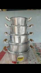 CHEGOU  kit de alumínio batido