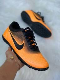 Chuteira Society Nike Orange