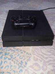 Ps4 500gb fosco + 4 jogos + 2 controles(leia a descrição)