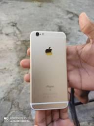Vendo iPhone 6s 64gb sem marcas de uso sem biometria mas o botão funciona normal
