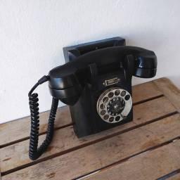 Material baquelite anos 60 Ericsson de parede - antiguidade