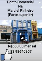 Ponto Comercial na Marciel Pinheiro  650,00