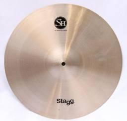 "Prato Crash Stagg SH Traditional Medium 16"" em Bronze B20"