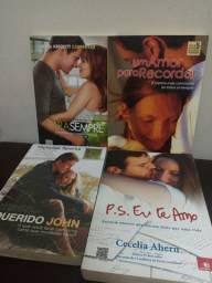 4 livros de Romance