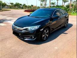 Honda Civic 2.0 16V Flexone EX 4P Cvt Preto Flex
