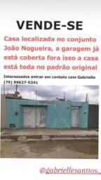 Vende-se está casa no conjunto João Nogueira