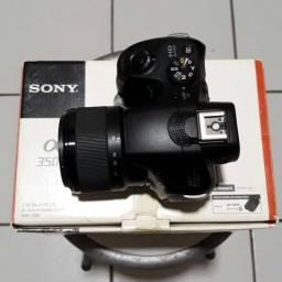 Sony A3500 (Alpha 3500) câmera melhor q F3 A3000 NEX T3I 60D 7D Canon Nikon. Só falo whats