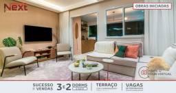 Promoção- Apto à 250 metros do metrô Guilhermina- 63 m², suíte vaga e varanda Grill