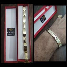 Bracelete Ouro 18
