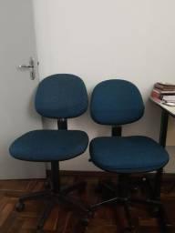 2 cadeiras de escritório
