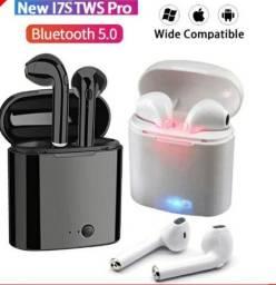 Fone de Ouvido i7s TWS Bluetooth 5 0 / Estéreo com Pod Carregador / Headset/Airpods