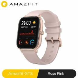 Xiaomi Amazfit GTS a1914 rosé smartwatch novo lacrado