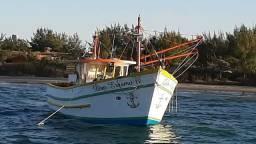 Barco pronto para pescar