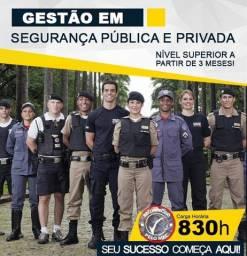 Curso Gestão em Segurança Pública e Privada
