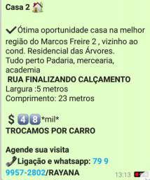 Casas Para vender no Marcos Freire 2