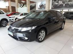 Civic EXS 1.8 automático 2012/2012 com teto solar