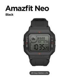 Smartwatch Xiaomi Amazfit Neo Original - Preto Novo lacrado
